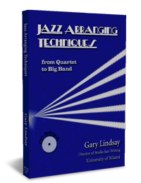 Jazz arranging techniques from quartet to big band