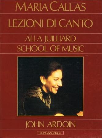 Lezioni di canto alla Juilliard school of music